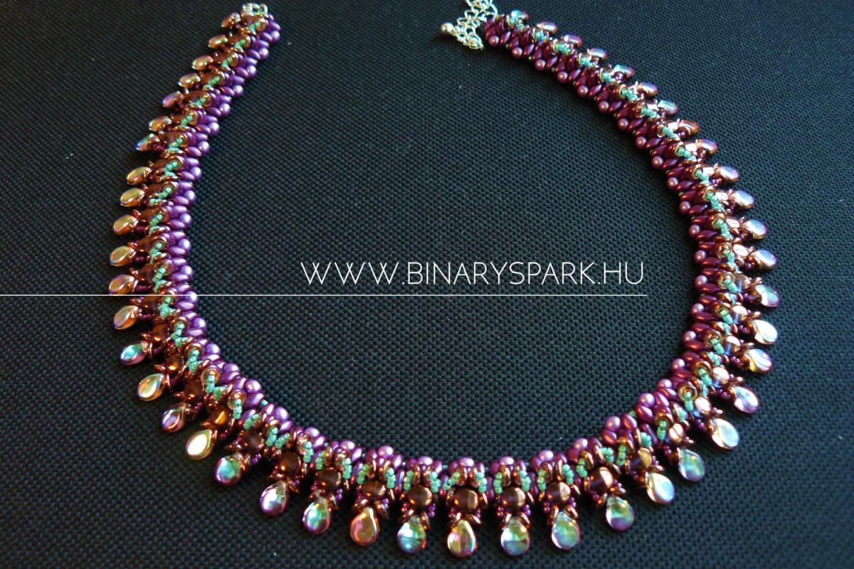 hipona collar collier nyakpánt nyaklánc gyöngy ékszer beaded jewelry